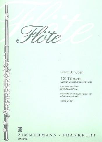 12 Dances: Flute & Piano (Zimerman)