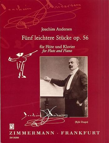 5 Studies Op.6: Flute & Piano (Zimerman)