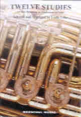 12 Studies: Bass Clef: Bass Trombone Or Tuba