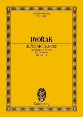 Slavonic Dances: Op46: 1-4: Miniature Score