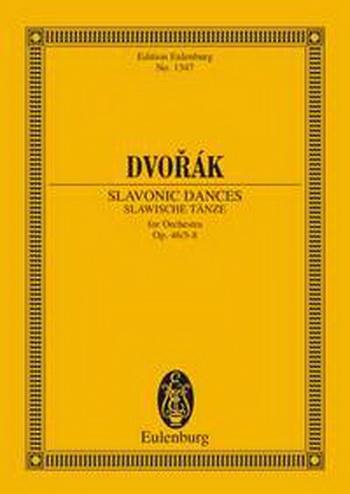 Slavonic Dances: Op46: 5-8: Miniature Score