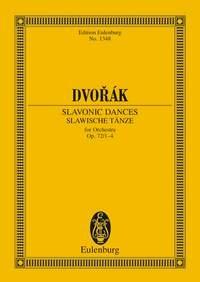 Slavonic Dances: Op72: 1-4: Miniature Score