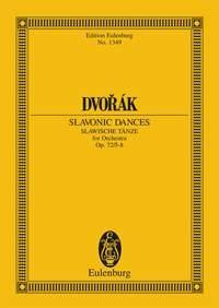 Slavonic Dances: Op72: 5-8: Miniature Score