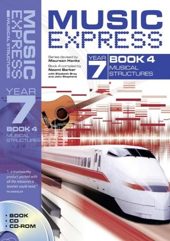 Music Express: Year 7: Book 4: Musical Structures : Teachers Book & CD  (A & C Black)
