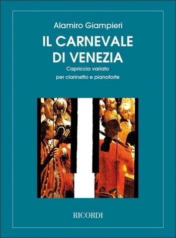 Carnival Of Venice: Il Carnevale Di Venezia: Clarinet & Piano (Ricordi)