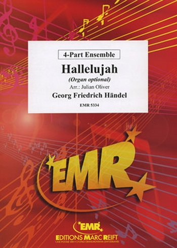 Hallelujah: 4 Part Ensemble: Mixed Parts: Score and Parts (oliver)