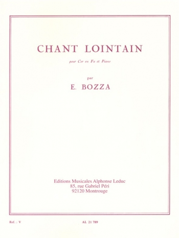 Chant Lointain: French Horn & Piano (Leduc)