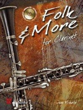 Folk And More: Clarinet: Book & CD