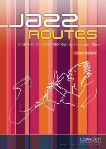 Jazz Routes - Alto Saxophone & Piano - Bk&cd