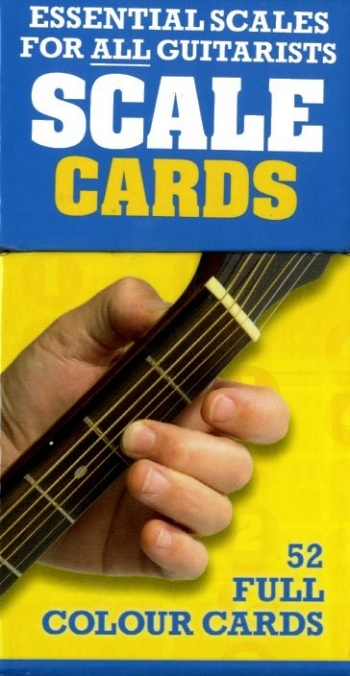 Scale Cards: 50 Scales and Arpeggios: 52 Full Colour Cards