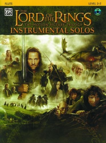 Lord Of The Rings: Trilogy: Instrumental Solos: Book & CD