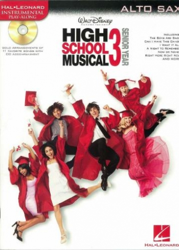 High School Musical: selections: Alto Sax: Book & CD