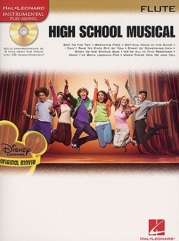 High School Musical: Selections: Flute: Book & CD