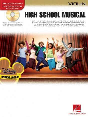 High School Musical: Selections: Violin: Book & CD