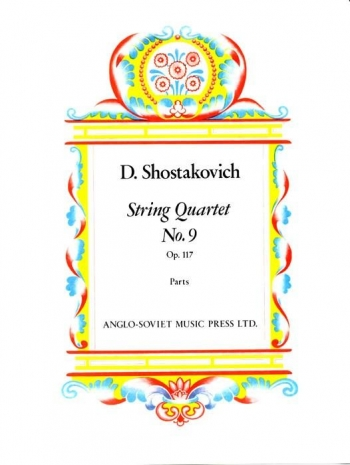 Shostakovich: String Quartet: No.9 Op117: Parts