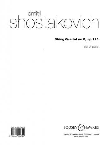 Shostakovich: String Quartet: No.8: Parts