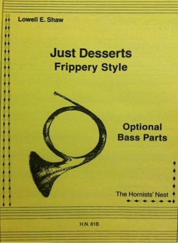 Just Desserts: Optional Bass Parts