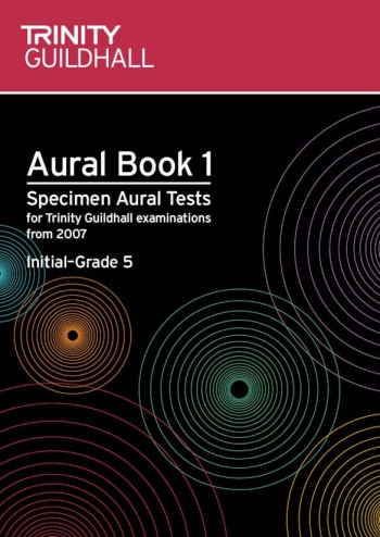 Trinity College London Specimen Aural Tests: Book 1: Grades Initial-5:  Book & CD