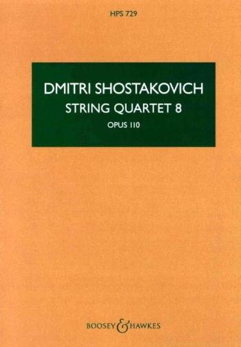String Quartet Op.110/8: Miniature Score (B&H)
