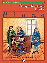 Alfred Basic Piano Composition Book: Level 2