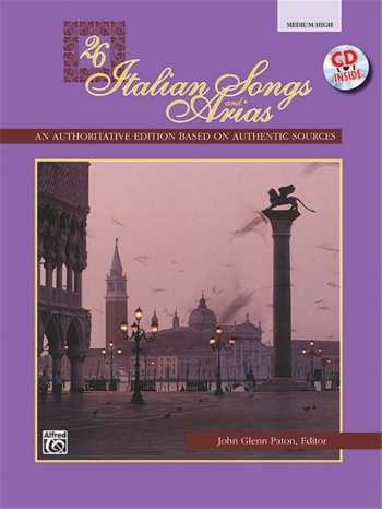 26 Italian Songs And Arias: Medium High: Vocal & Cd