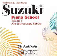 Suzuki Piano School Vol.6 CD Only