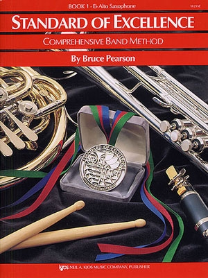 Standard Of Excellence:Comprehensive Band Method Book 1: Alto Sax