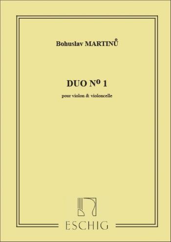 Duo - No 1 - Violin And Violoncello