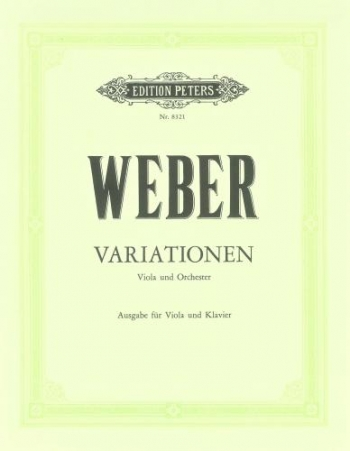 Variations: Viola and Piano (Peters)
