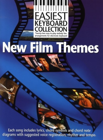 Easiest Keyboard Collection: New Film Themes