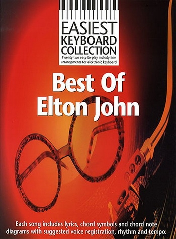 Easiest Keyboard Collection: Best Of Elton John