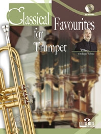 Classical Favourites For Trumpet: Trumpet and Piano: Book & CD