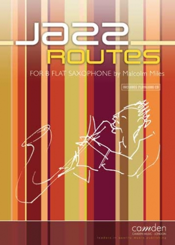Jazz Routes - Tenor Saxophone & Piano - Bk&cd