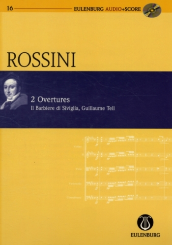 Two Overtures: Barber Of Seville and Wiiliam Tell  (Audio Series No 16)