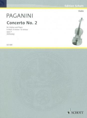 Concerto No 2: Violin and Piano