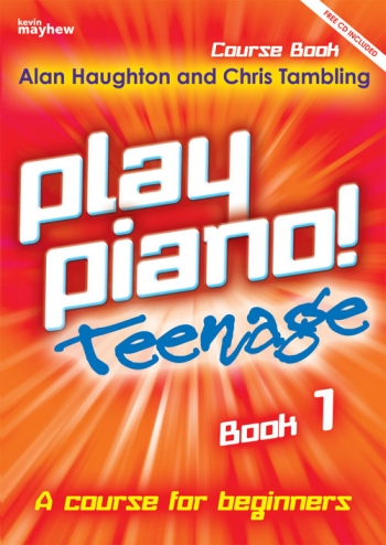 Play Piano Teenage Book 1 Book & Cd  (Haughton & Tambling)