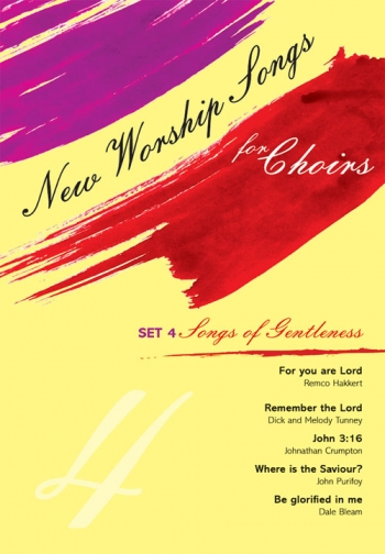 New Worship Songs For Choirs: Set 4 Songs Of Gentleness (Mayhew)