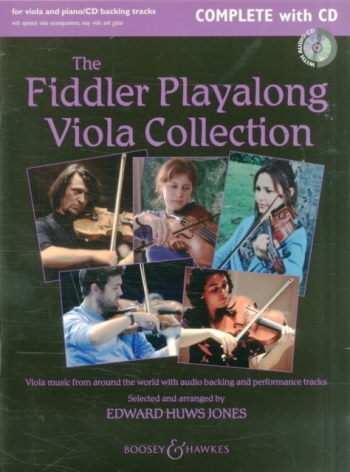 The Fiddler Playalong Viola Collection Book & CD  (huws Jones)