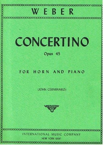 Concertino: Op45: French Horn