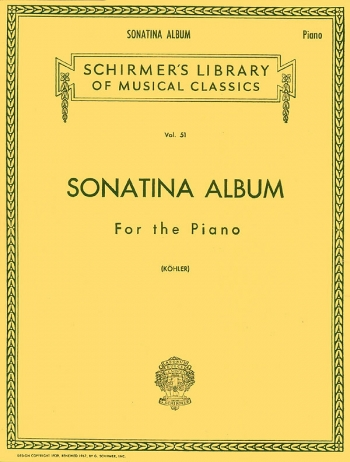 Sonatina Album: Piano