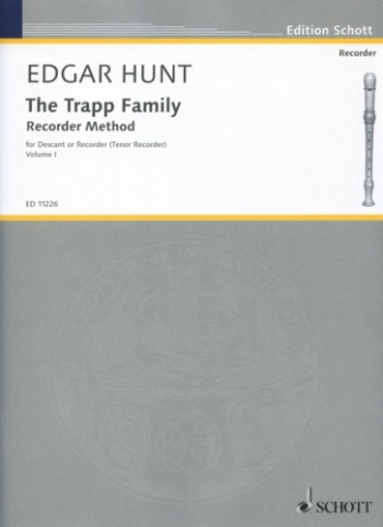 Trapp Family Recorder Method: 1: Descant and Treble