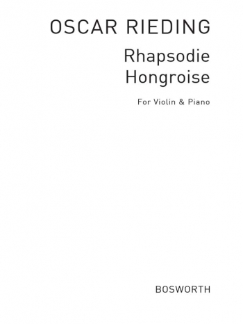 Rhapsodie Hongroise: Op26: Violin and Piano