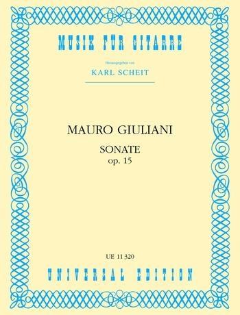 Sonata: C  Op15: Guitar