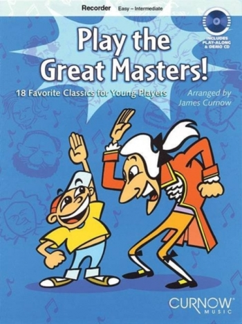 Play The Great Masters: Recorder: Easy: Intermediate