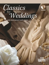 Classics For Wedding Violin: Book & CD
