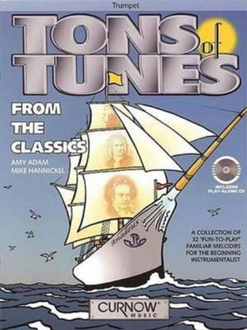 Tons Of Tunes: From The Classics: Trumpet: Book & Cd (adam)