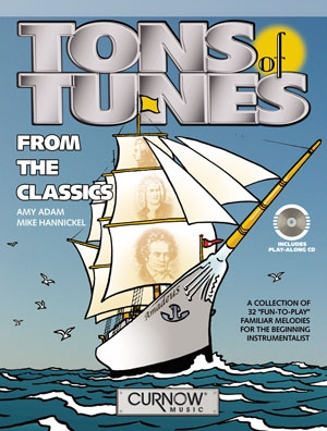 Tons Of Tunes: From The Classics: Violin: Book & Cd (Adam)