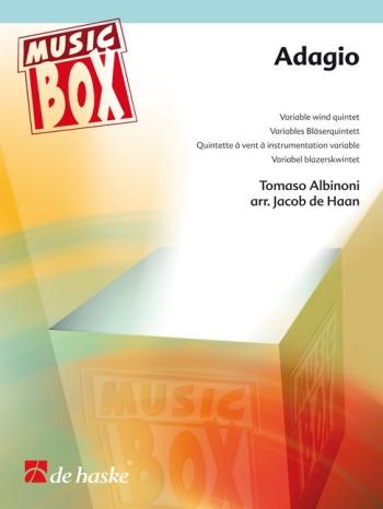 Albinoni: Adagio: Wind Quintet: Score and Parts