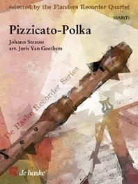 Pizzicato-polka: Recorder Quartet: Ssab(t)