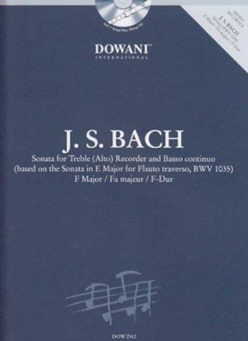 Sonata For Treble (Alto)F Major: Recorder and Piano (Dowani)